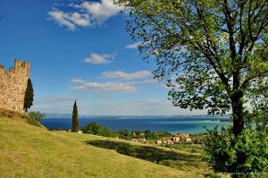 fulvio vivenzi - padenghe sul garda - il castello e il lago
